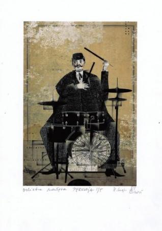 "Perkusja, zcyklu ""ORKIESTRA NADĘTA"", Ryszard Kaja"