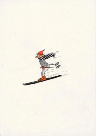 No title (skier)