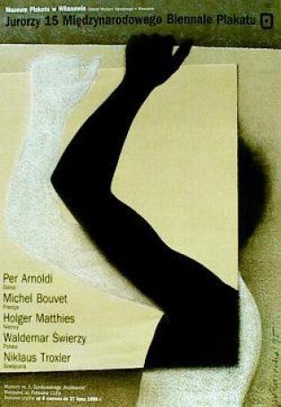 Jurorzy 15 Miedzynarodowego Biennale Plakatu