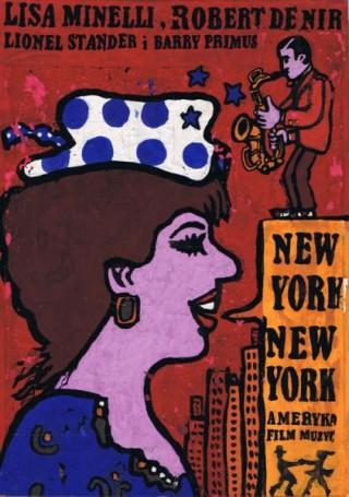 New York, New York -projekt plakatu