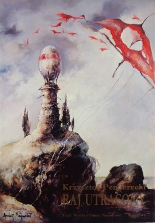 Paradise lost, 1993, K. Penderecki