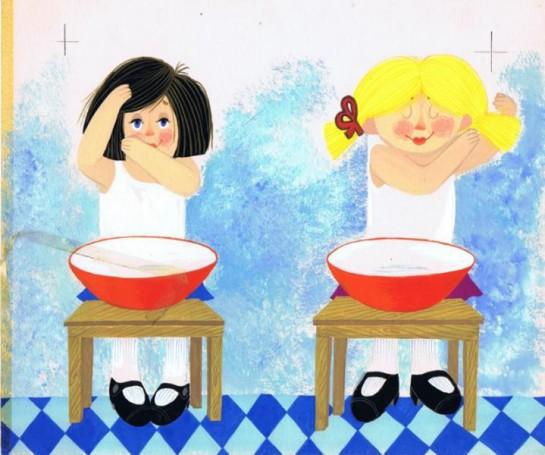 """""""To samo -inaczej"""", 1984 r., ilustracja do książki Mirosława Pokory"""