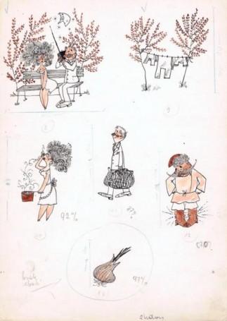 """Rady babci, mamy"", ilustracja"