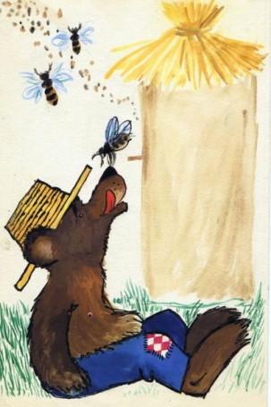 """Pech"", ilustracja do książki, str. 176"