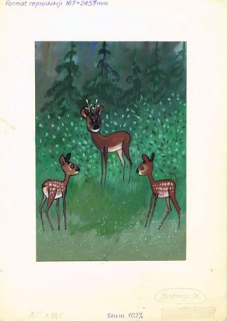 Untitled (Fawn), illustration