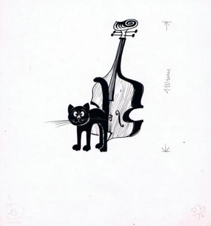 """""""Niewidzialna orkiestra"""", Feld Friedrich, ilustracja"""