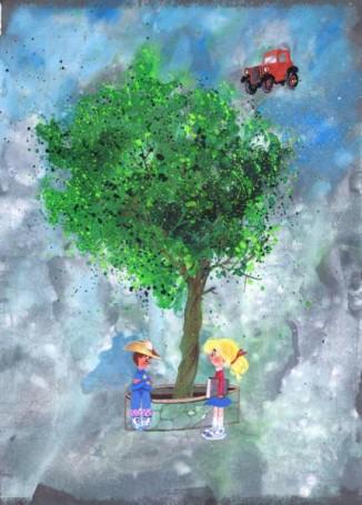 Książka, której się śniło, ilustracja do książki Bogdana Justynowicza (30)