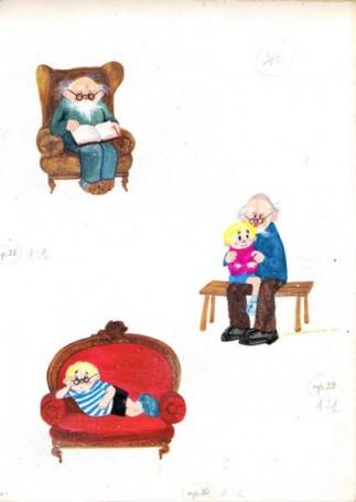 """""""Książka, której się śniło"""", ilustracja do książki Bogdana Justynowicza"""