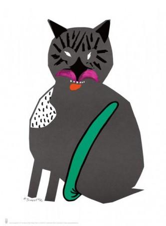 Cat, 2018 (reprint), Henryk Tomaszewski