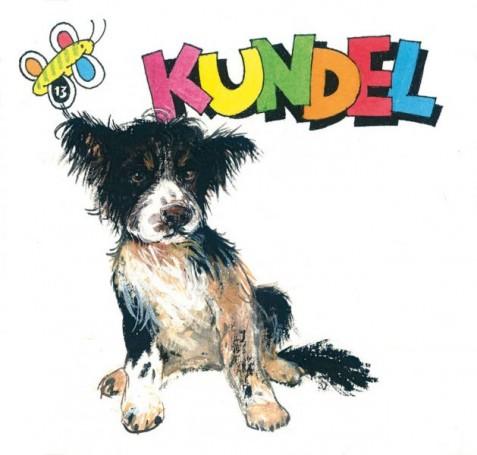 """""""Kundel"""", okładka do książki Wandy Chotomskiej"""