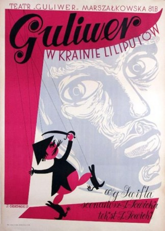 Guliwer wKrainie Liliputów 1951 r.