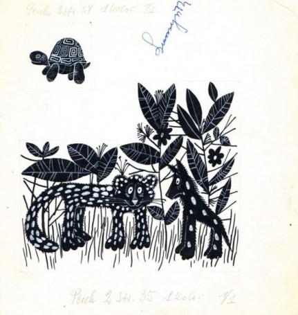"""""""Pech"""", ilustracja do książki"""