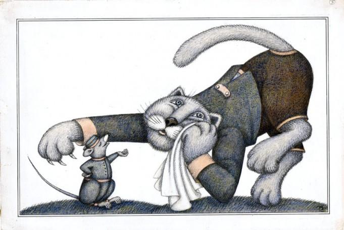 Tomasz Borowski, 'Bajki', I. Krasicki -ilustracja, 1983 r., 100 Pomysłów na prezent dla DZIECKA