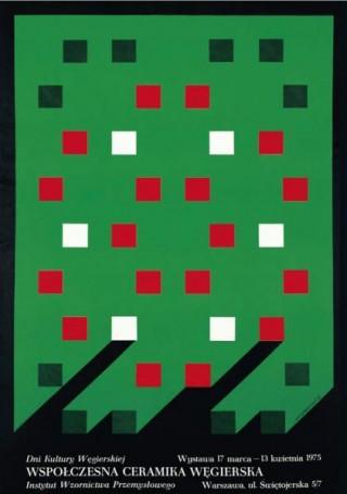 Współczesna ceramika węgierska, 17 marca -13 kwietnia 1975
