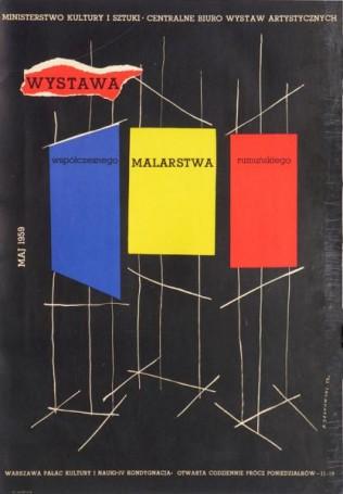 Wystawa Współczesnego Malarstwa Rumuńskiego, 1959 r., Jerzy Srokowski