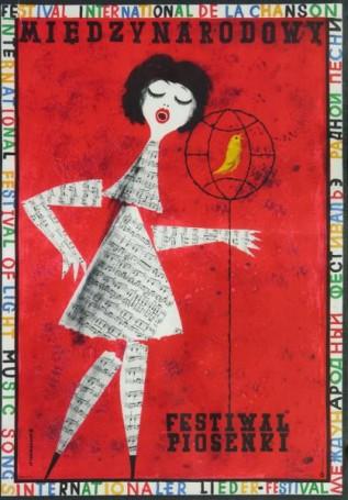 Międzynarodowy Festiwal Piosenki, 1961 r.