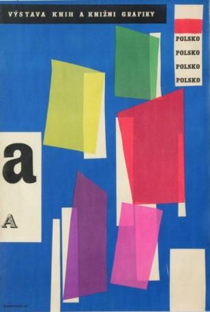 Vystava Knih aKnizni Grafiky Polsko, 1961