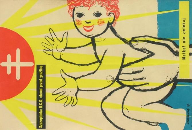 Szczepionka BCG, 1956 r.,