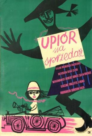 Upiór na sprzedaż, reż. Rene Clair, 1954 r.