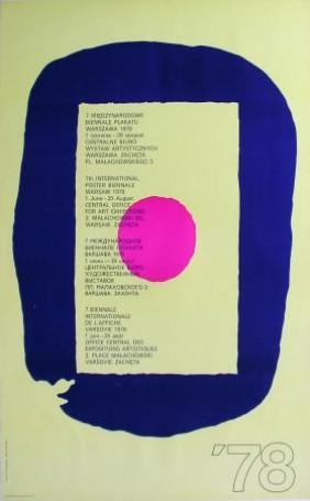 7 Międzynarodowe Biennale Plakatu, 1978 r.