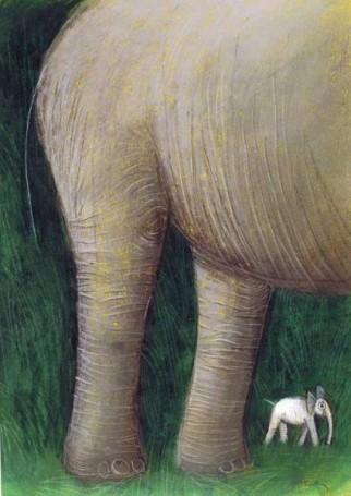 Untitled (elephants)