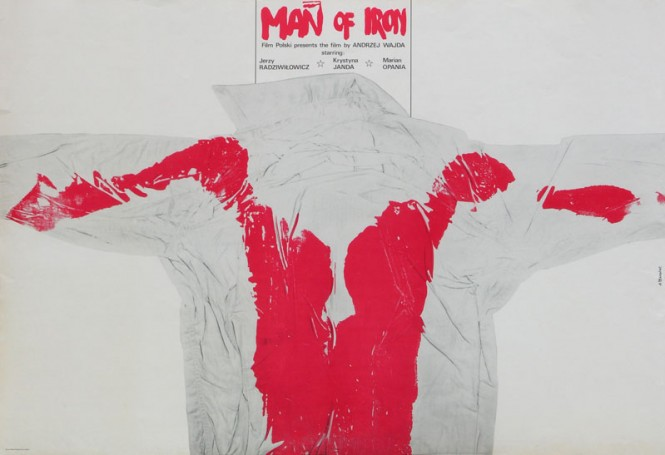 Człowiek zżelaza (wersja angielska), 1981 r., reż.: Andrzej Wajda