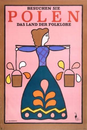 Besuchen Sie Polen das Land der Folklore, 1971