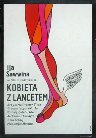 Kobieta zlancetem, 1974 r.