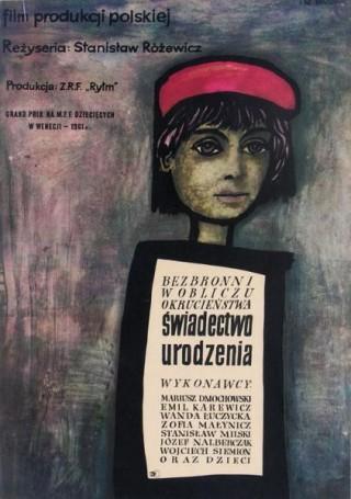 Świadectwo urodzenia, 1961 r., reż. Stanisław Różewicz