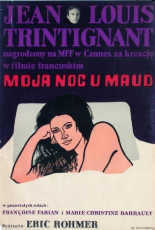Moja noc u Maud, 1972 r., reż. Eric Rohmer