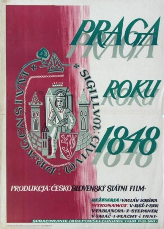 Praga roku 1848, 1950 r., reż. Vaclav Krska