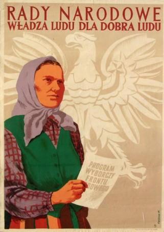 Rady narodowe. Władza ludu dla dobra ludu, 1954 r.
