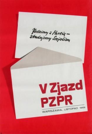 V Zjazd PZPR Warszawa 1968, 1968 r.