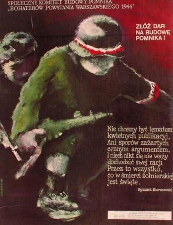 Zloz dar na budowe pomnika, 1985