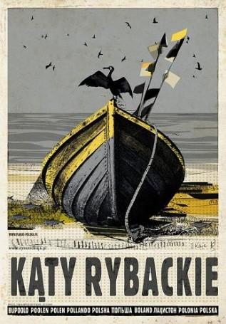 """Kąty Rybackie, 2018 r., zcyklu """"Polska"""", Ryszard Kaja"""