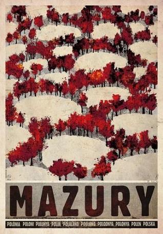 Mazury -jesień, 2018 r., zcyklu