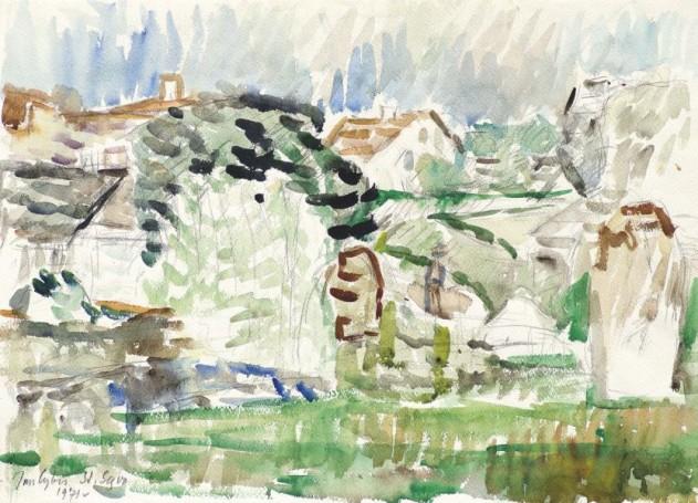 Stary Sącz- Domy II, 1971 r. (nr. 19)