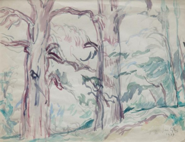 Untitled (trees), 1939 r.