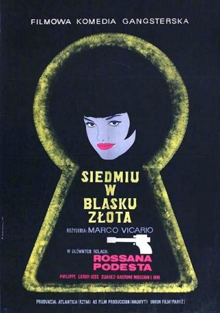 Siedmiu wblasku zlota, 1968, director: Marco Vicario