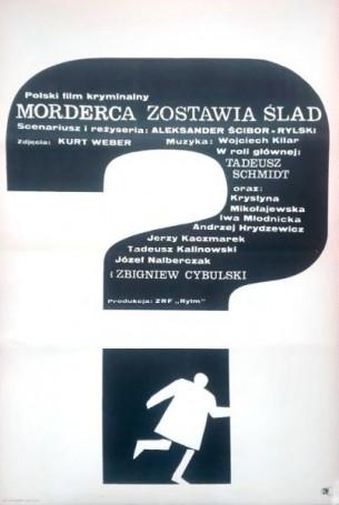 Morderca zostawia slad, 1967, director Aleksander Scibor-Rylski