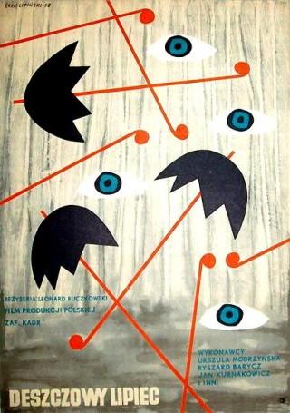 Deszczowy lipiec,1958 r., reż. Leonard Buczkowski