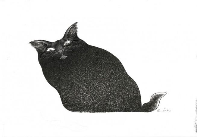 Bez tytułu (Kot), Jacek Gawłowski