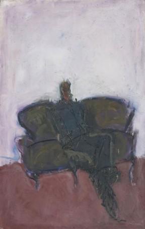 Postać na kanapie