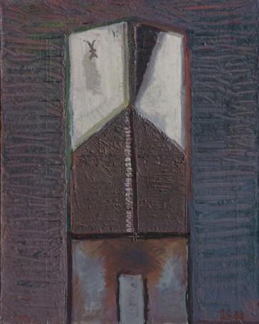 Ściana domu IV, 1960 r.