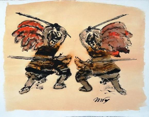 Series Samurais (5), 2016, Witold Zandfos
