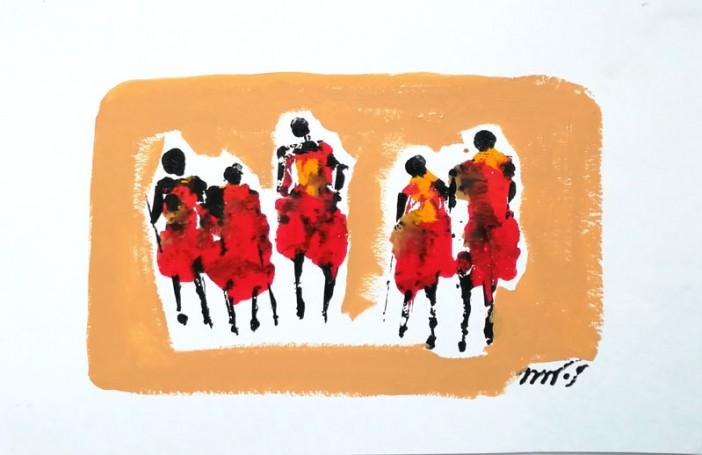 Serie Massais, 2012