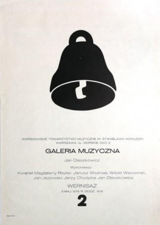 Galeria Muzyczna Jan Oleszkiewicz -wernisaż, 1976