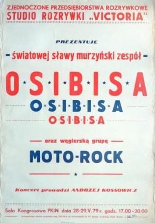 Osibisa and Motor Rock, 1979
