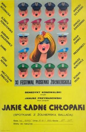 XI Festiwal Piosenki Żołnierskiej: Jakie ładne chłopaki, 1977
