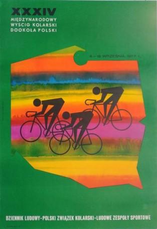 XXXIV Międzynarodowy Wyścig Kolarski Dookoła Polski, 1977